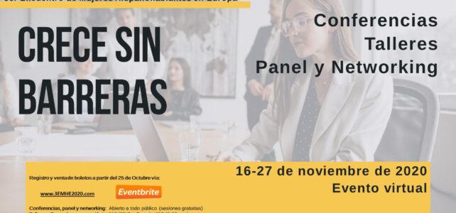 Paises Bajos | 3er Encuentro de Mujeres Hispanohablantes en Europa