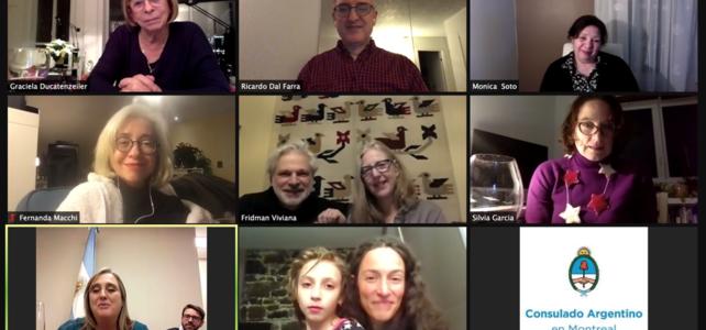 Canadá   Reunión de fin de año y despedida de la Cónsul en Montreal
