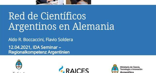 Alemania | La RCAA presente en seminario del Servicio Alemán de Intercambio Académico (DAAD) sobre Competencia Regional sobre Argentina